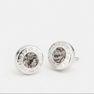 NWT Coach Open Circle Earrings